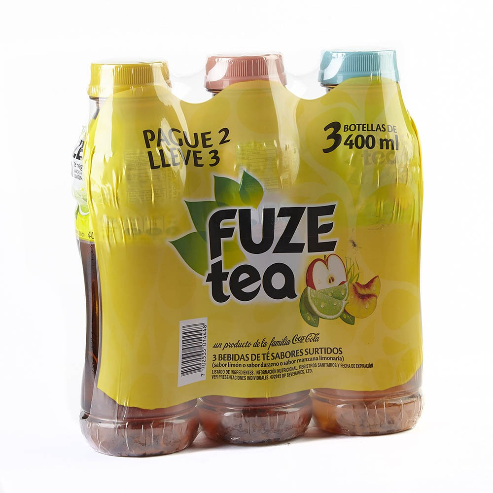 Fuze Tea pague 2 lleve 3