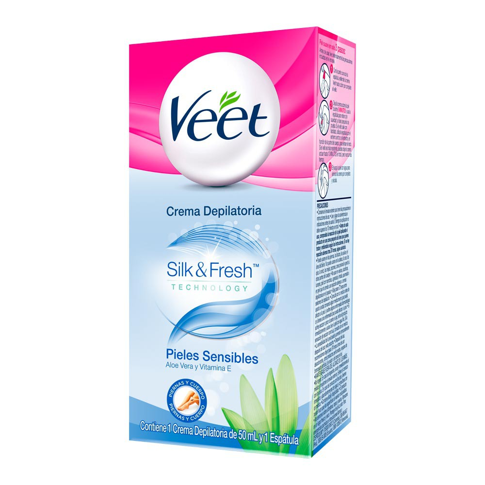 Crema Depilatoria Veet Piel Sensible 50ml