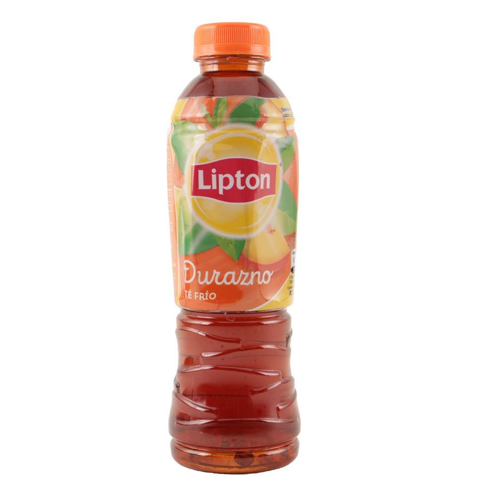 Bebida lipton té frío durazno