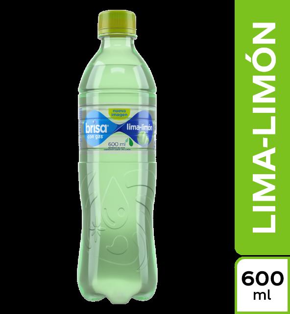 Agua brisa con gas lima limón