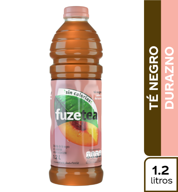 Té Fuze Tea Negro Durazno