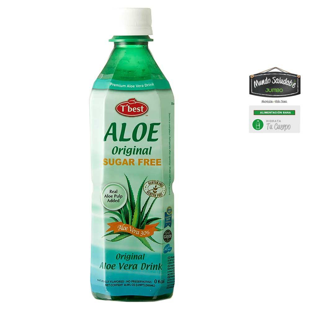 Bebida De Aloe Vera T'Best Original Sin Azúcar