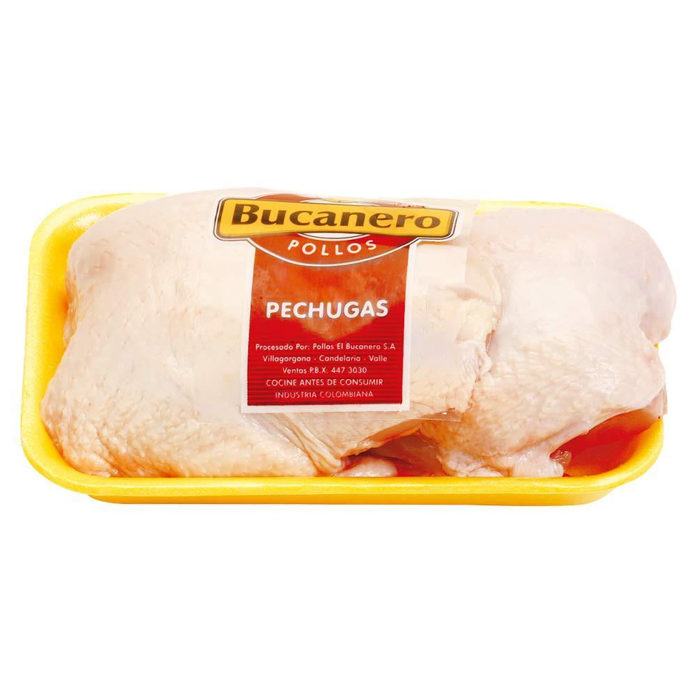 Pechugas de pollo en bandeja
