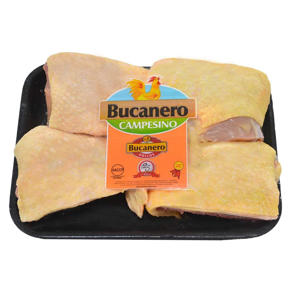 Contramuslo de pollo campesino con rabadilla