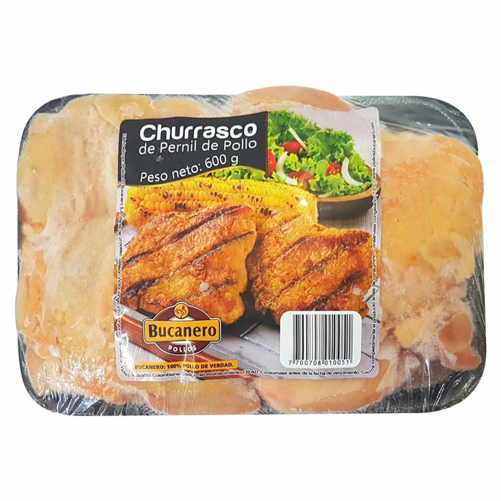 Churrasco de pernil de pollo