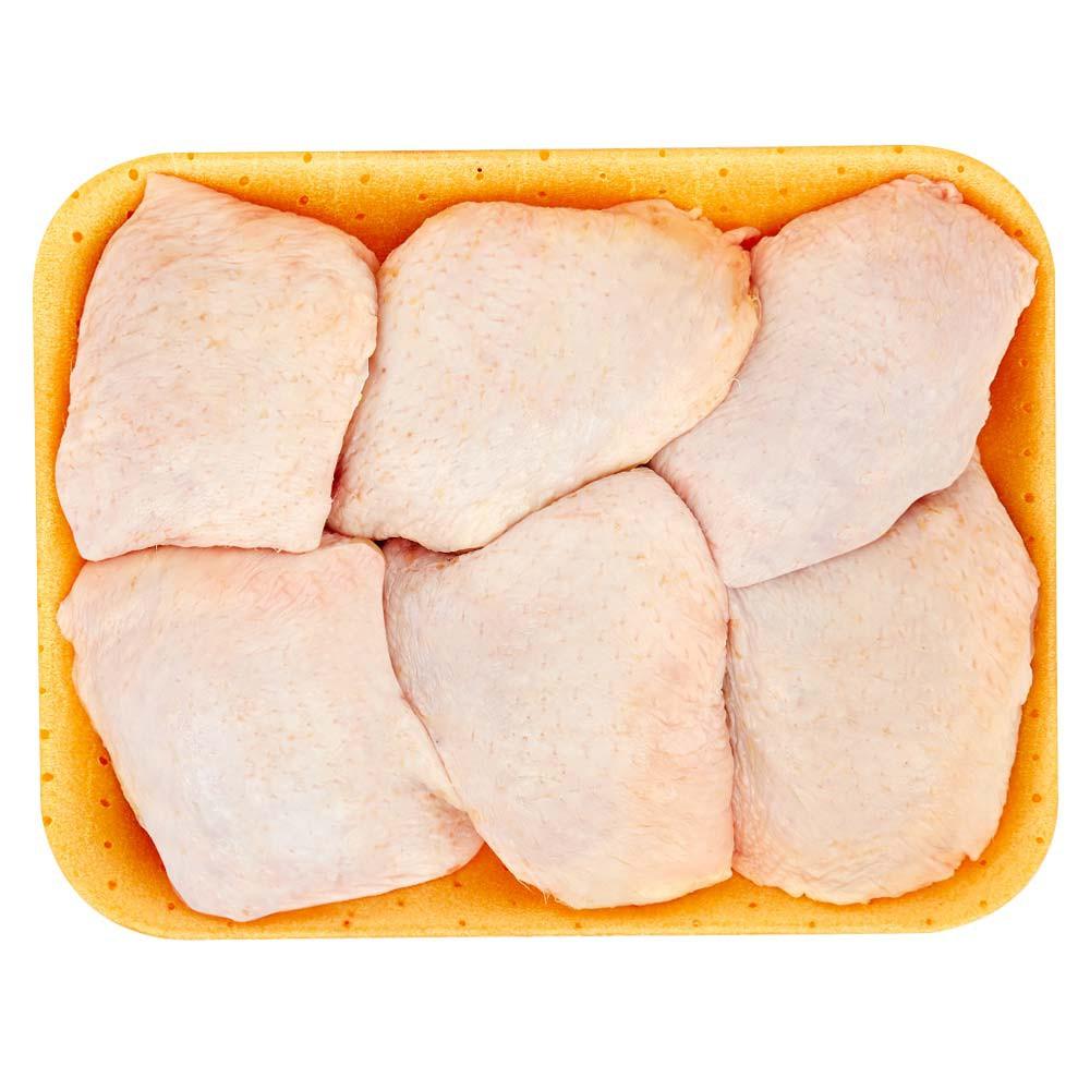 Muslo de pollo con piel
