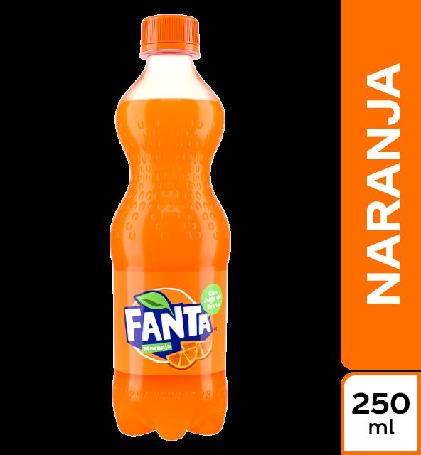 Gaseosa Fanta naranja