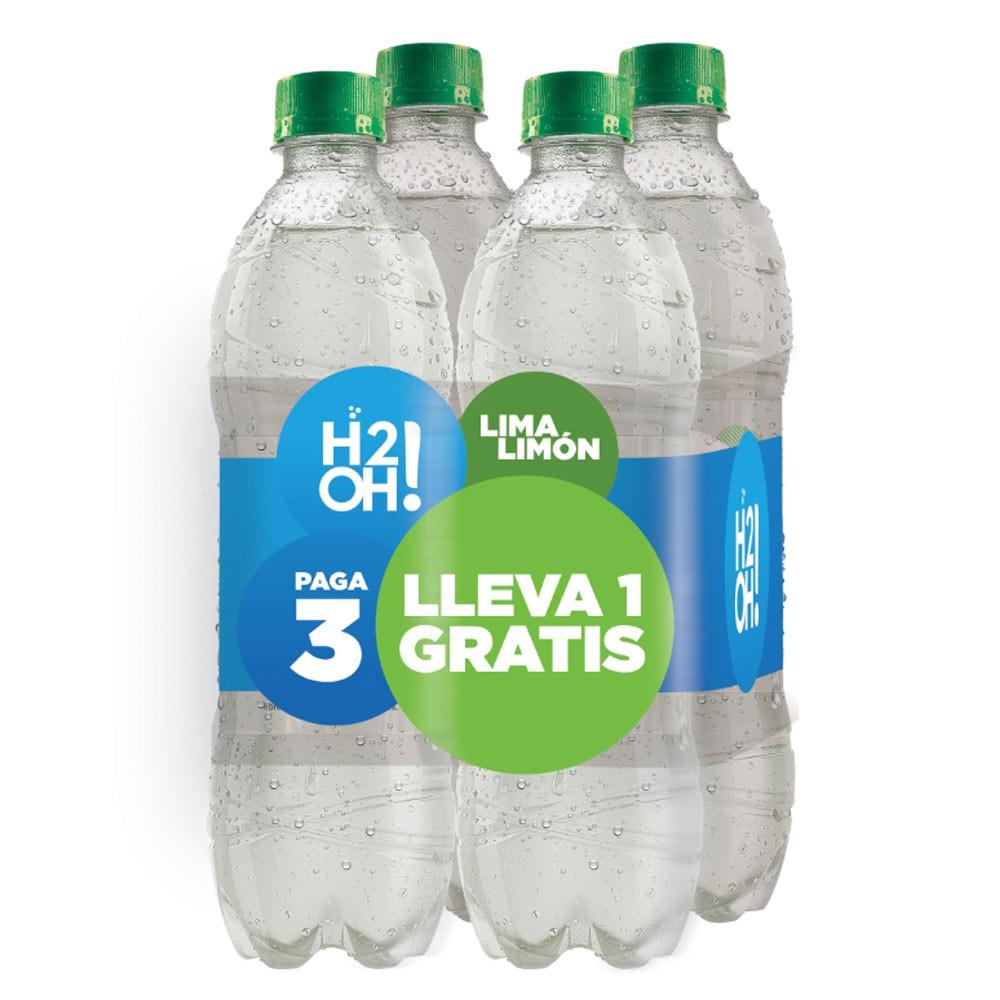 Bebida h2oh! lima limón pague 3 lleve 4 und