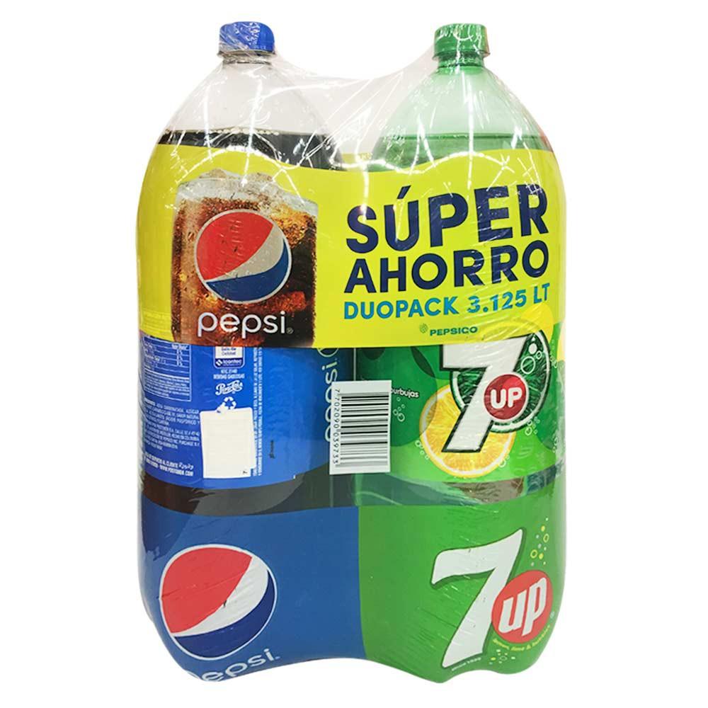 Gaseosa Pepsi + Seven Up