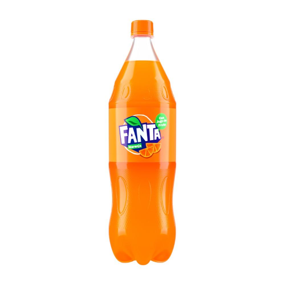 Gaseosa naranja Fanta