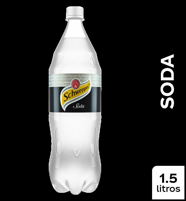 Gaseosa Soda Schweppes x 1.5 ml
