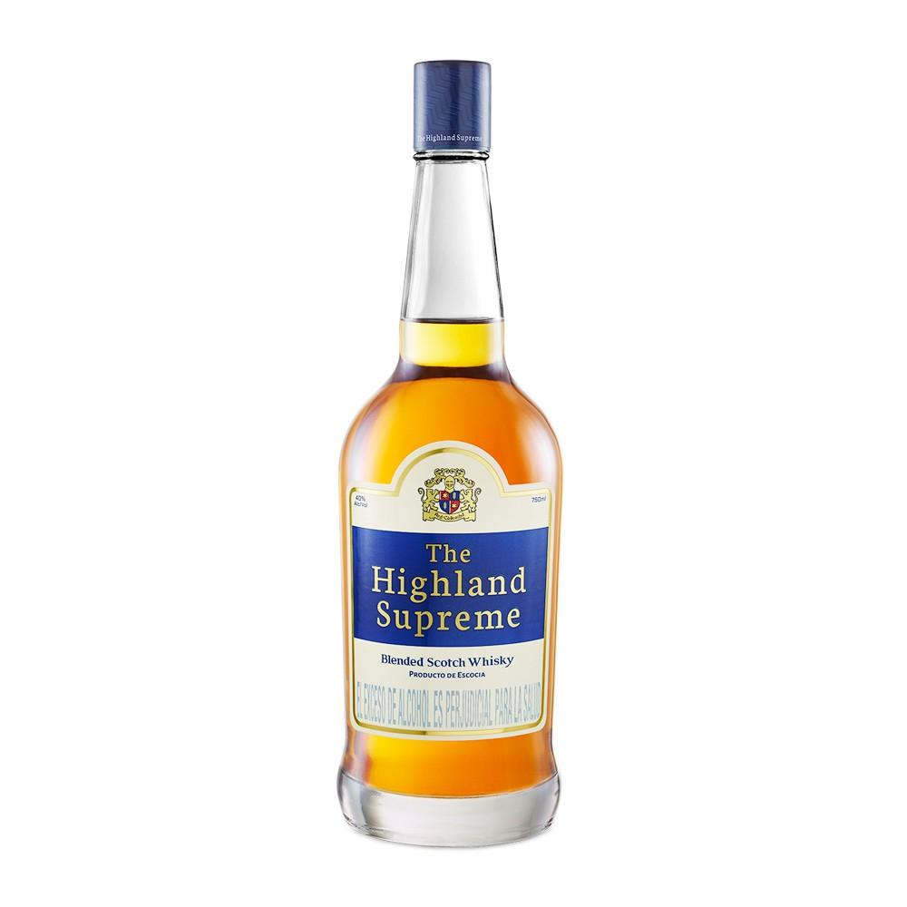 Whisky The Highland supreme botella