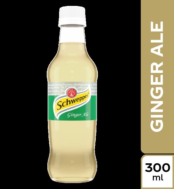 Gaseosa schweppes ginger ale