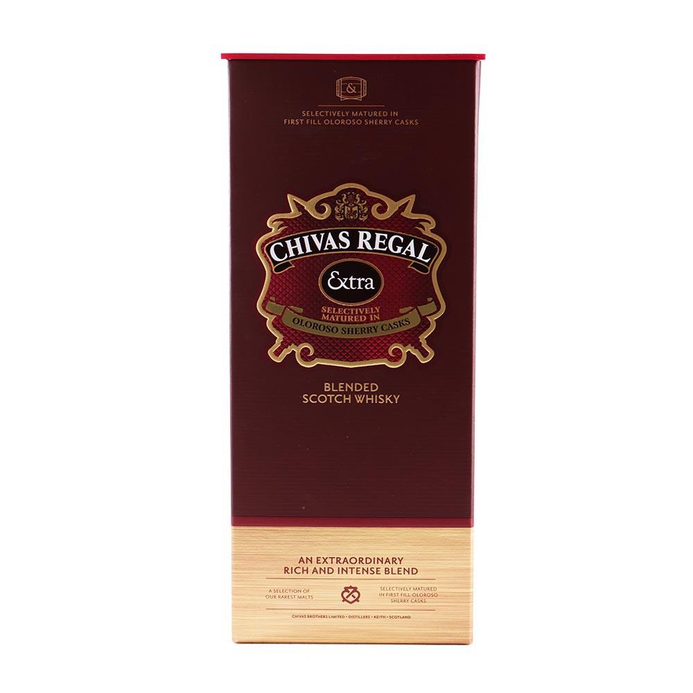 Whisky Chivas Regal extra botella