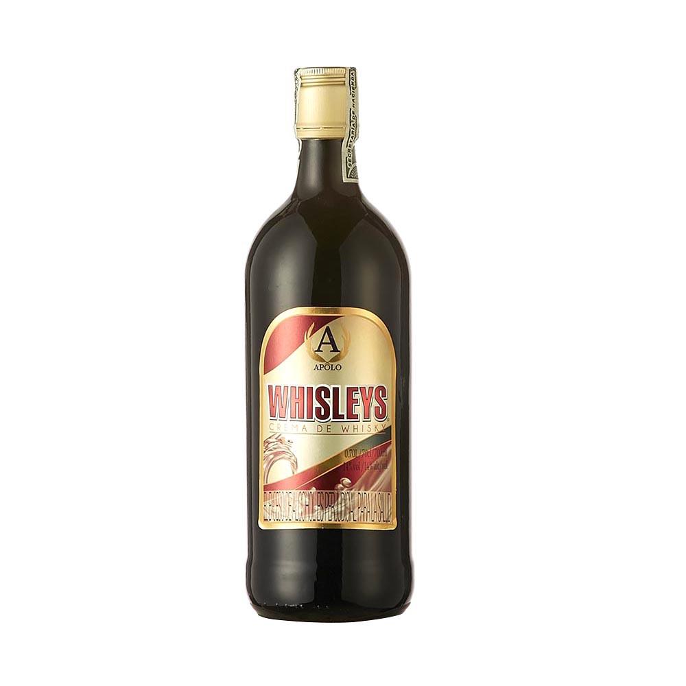 Coctel de whisky Whisleys botella