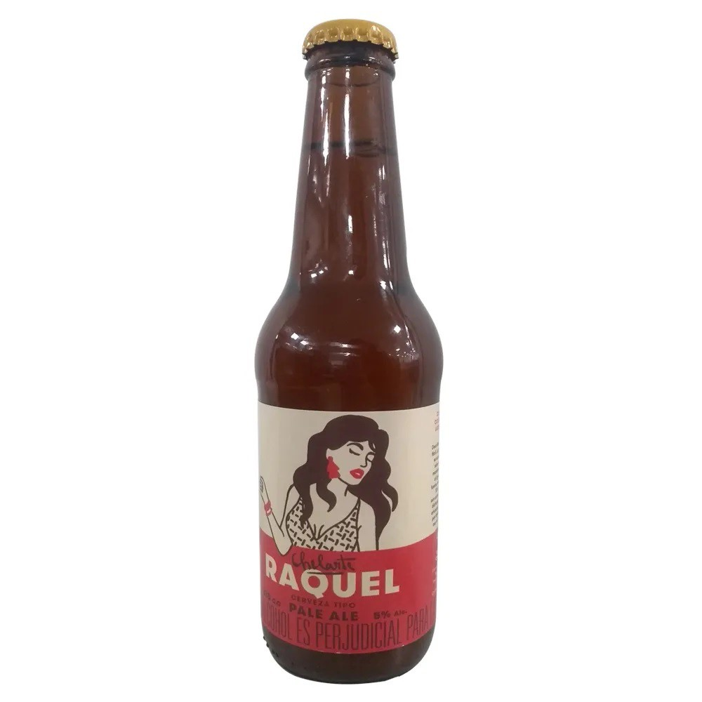 Cerveza raquel pale ale 330 ml
