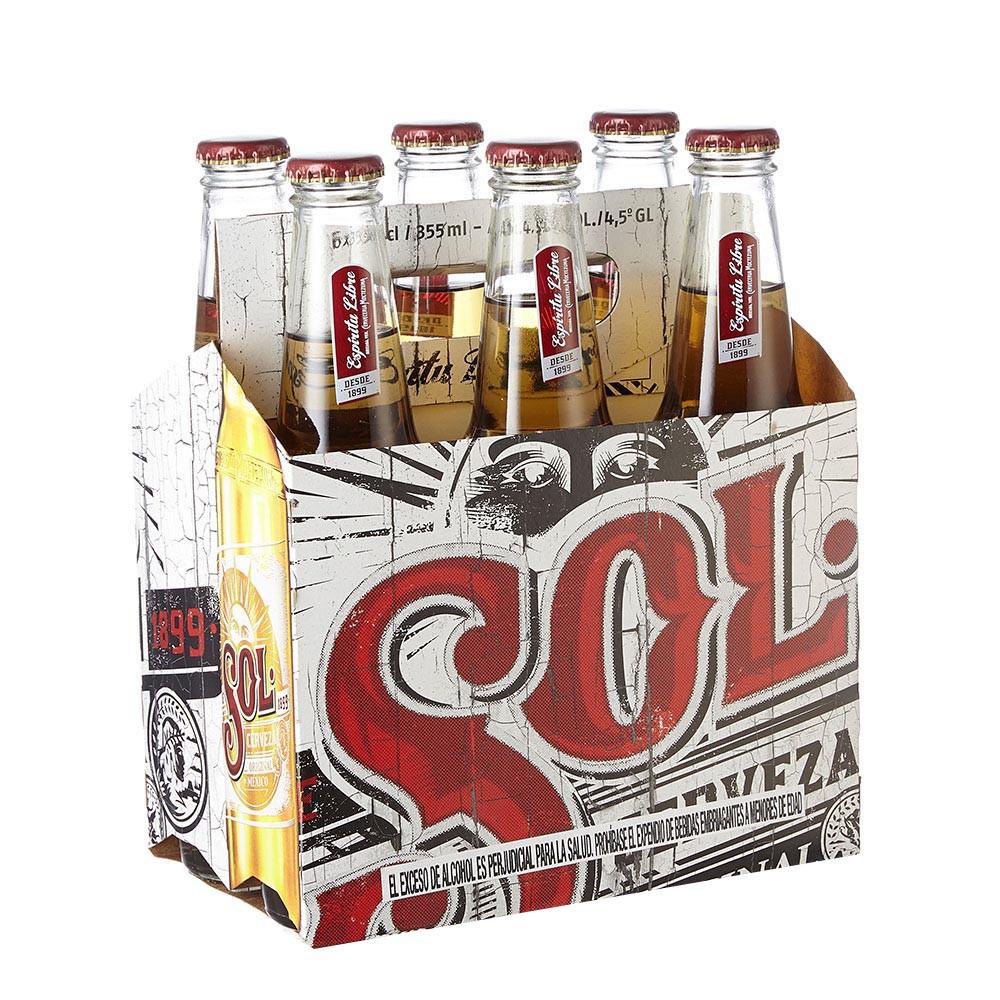 Cerveza Sol botella
