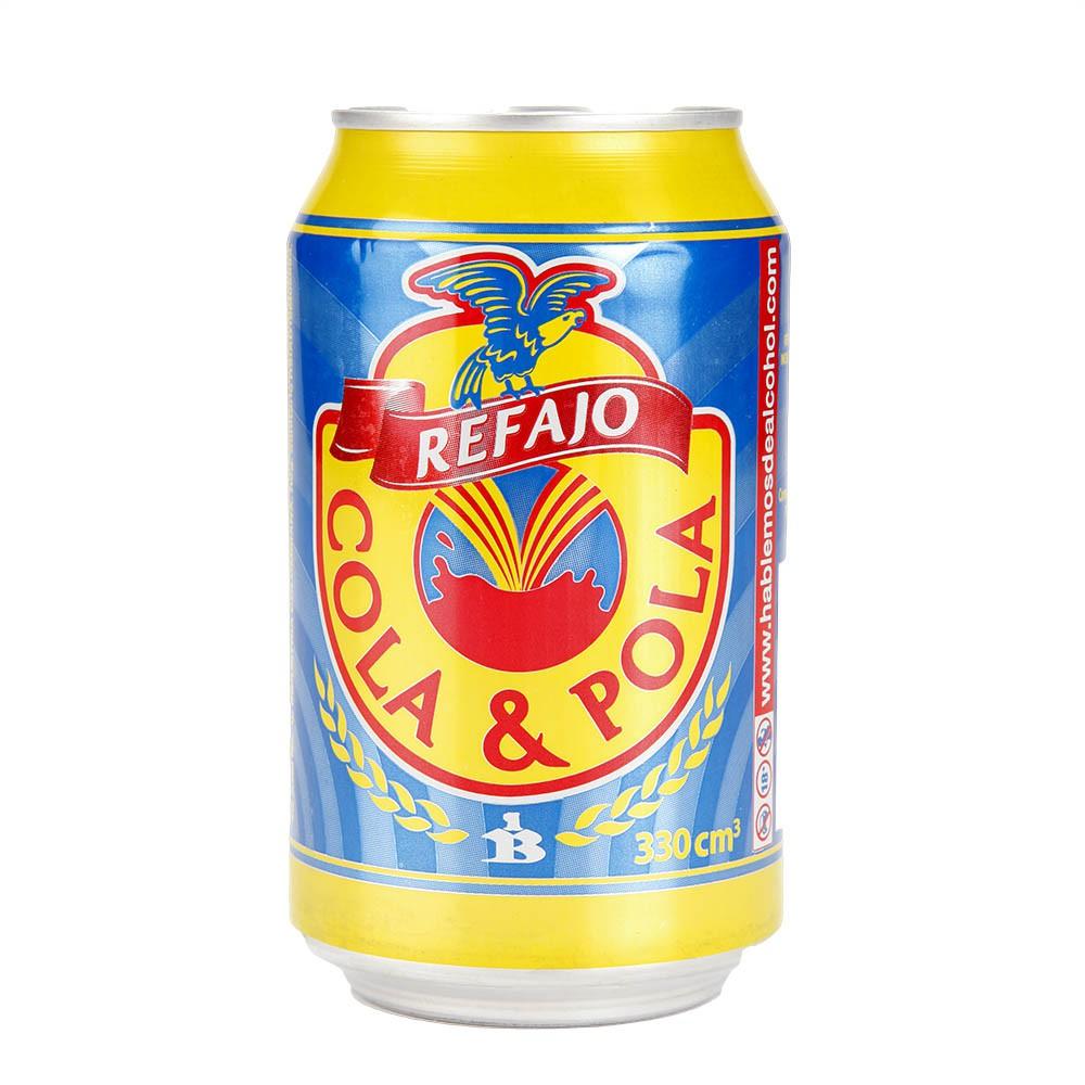 Refajo Cola Y Pola Colombia x 330cc