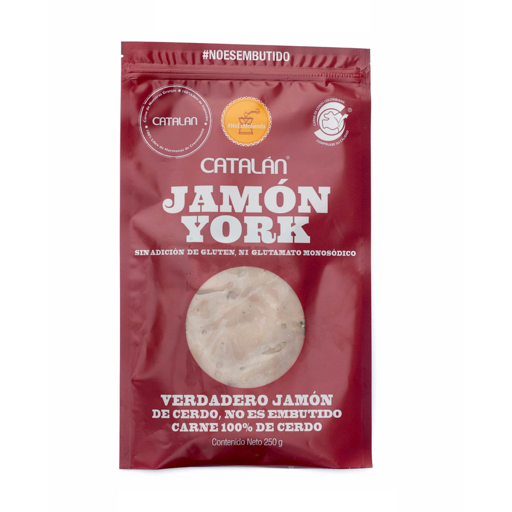 Jamón York Catalán