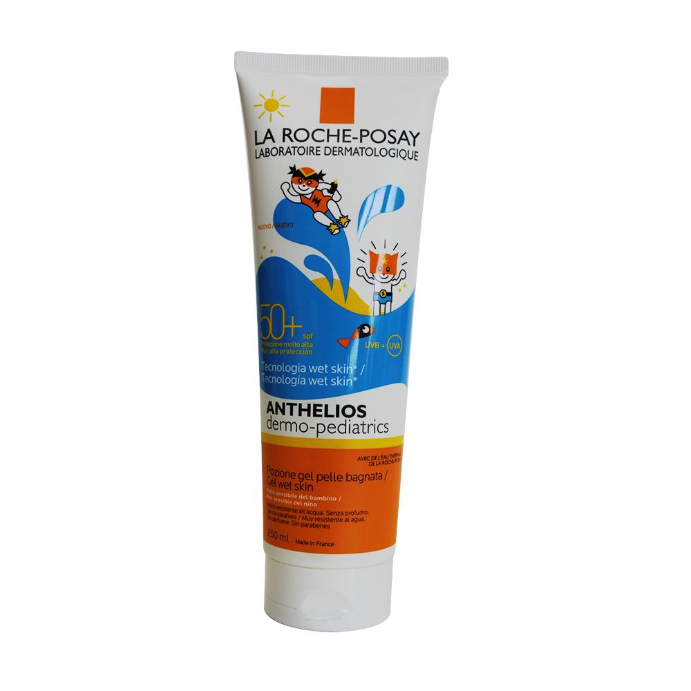 Protector solar niños anthelios wet skin