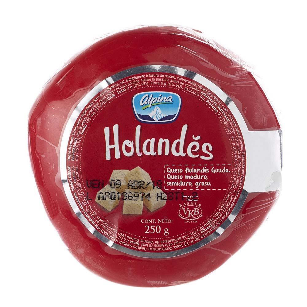 Queso Holandes bola Alpina