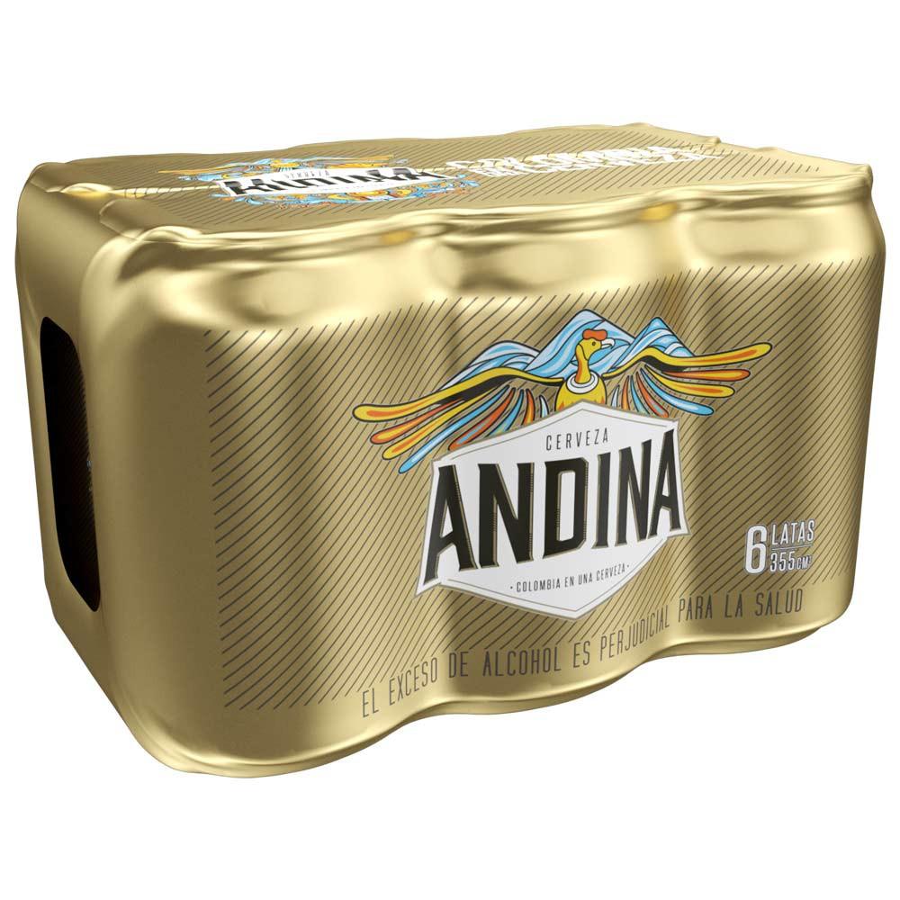 Cerveza Andina lata