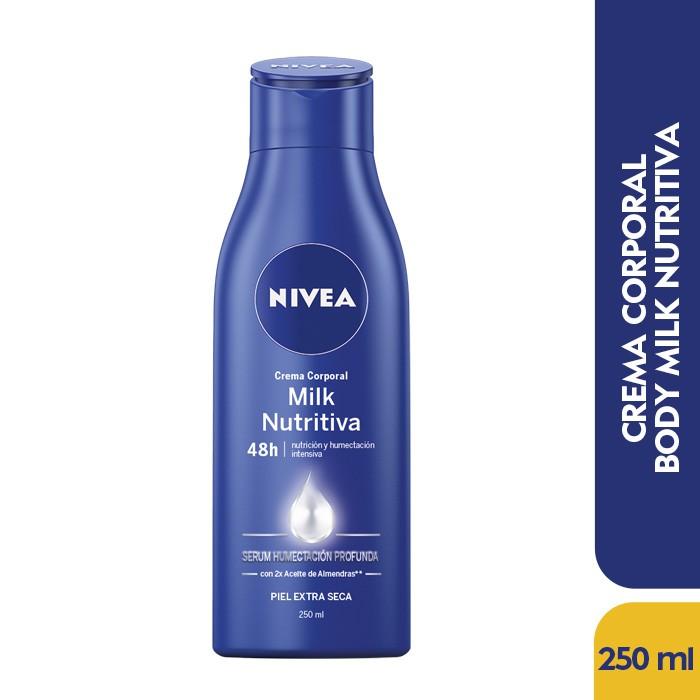 Crema corporal milk nutritiva