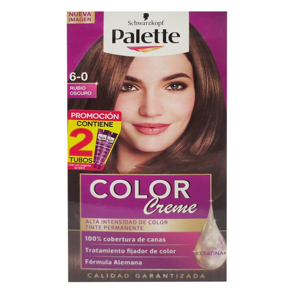 Tinte Palette Cc 6-0 Doble Tubo
