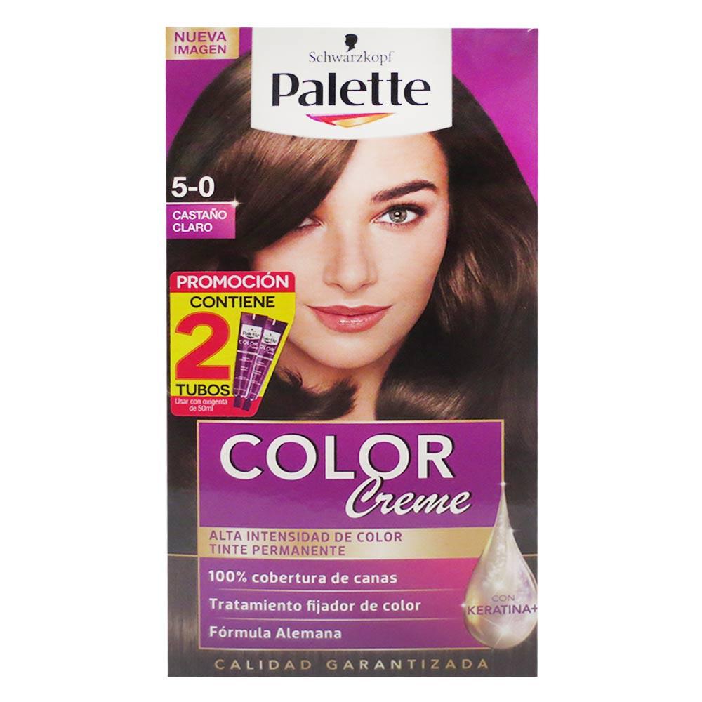 Tinte Palette Cc 5-0 Doble Tubo