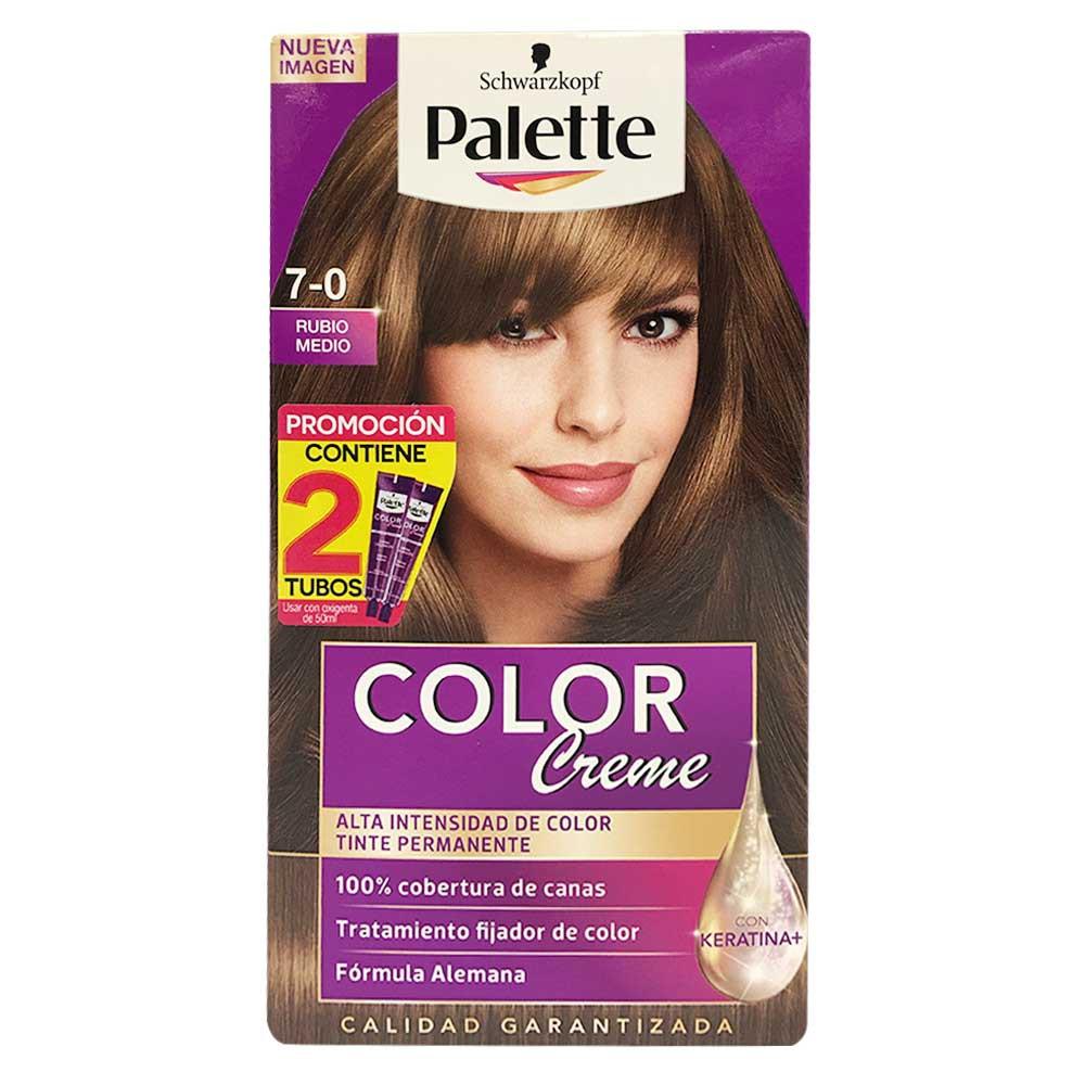Tinte Palette Cc 7-0 Doble Tubo