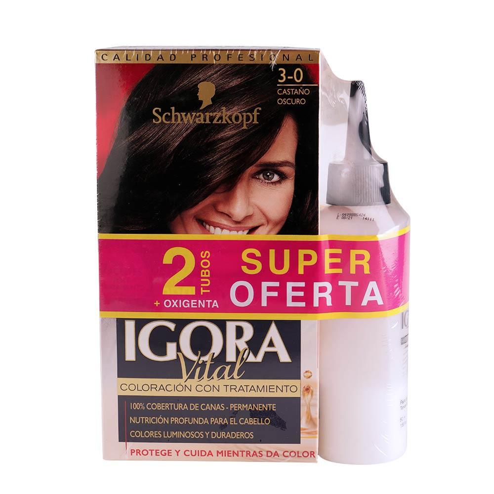 Tinte Igora vital tono 3-00