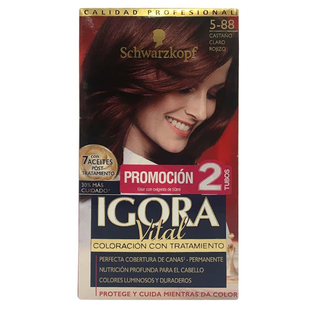 Kit Igora Vital coloración con tratamiento No.5-88