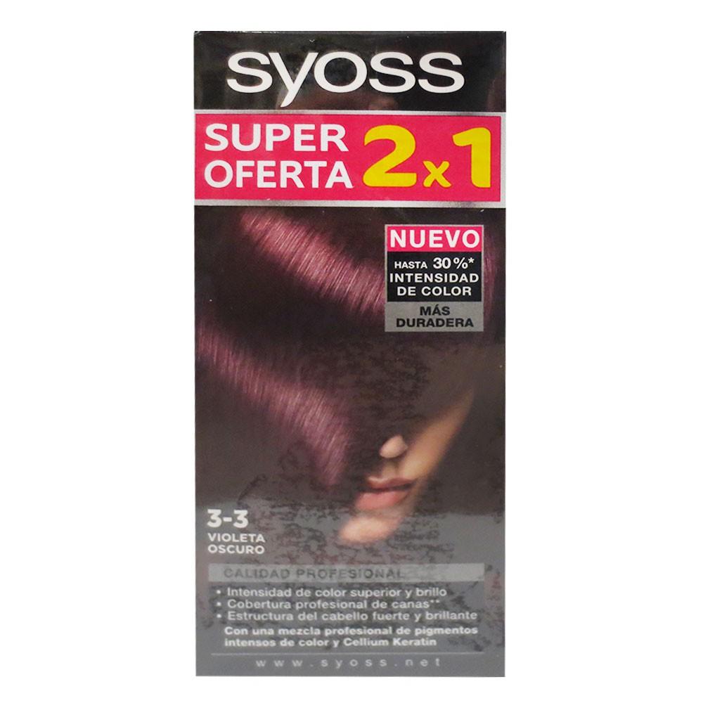 Tinte Cabello Syoss Color 3-3 2Kits 50 G-11
