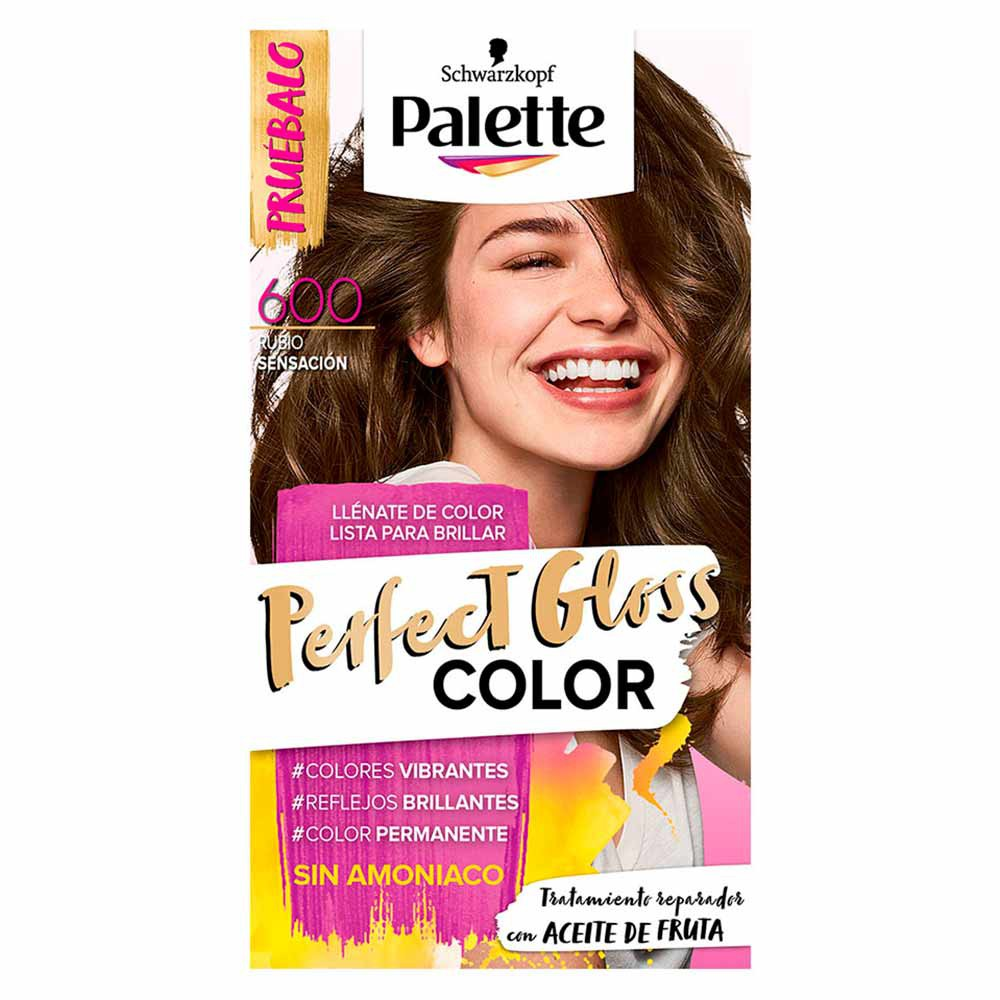 Tinte Palette perfect gloss color tinte 600