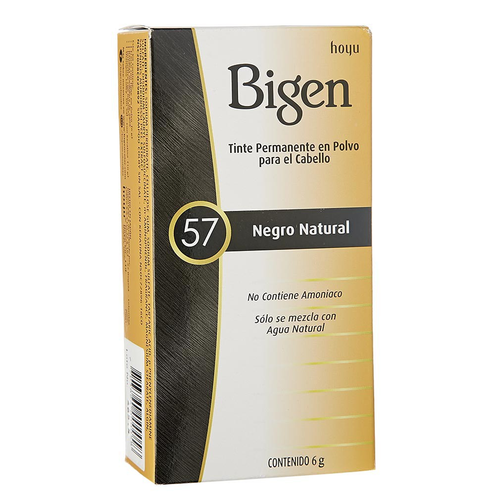 Tinte Bigen negro natural No.57