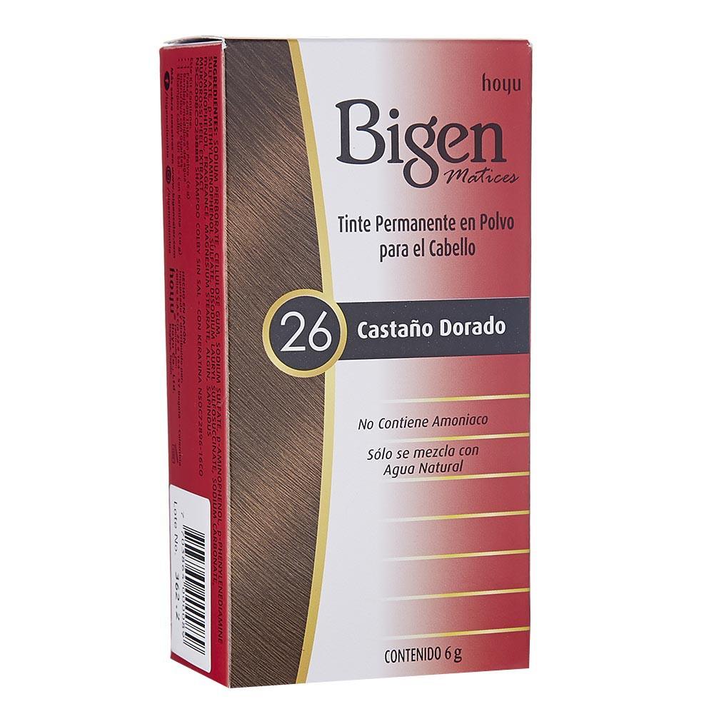 Tinte Bigen castaño dorado No.26