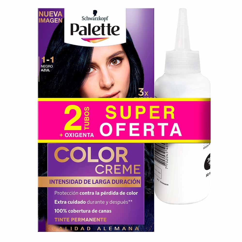 Tinte Palette color creme tinte 1-1
