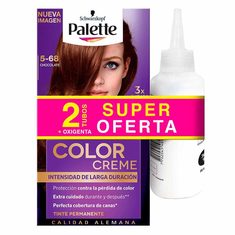 Tinte Palette color creme tinte 5-68
