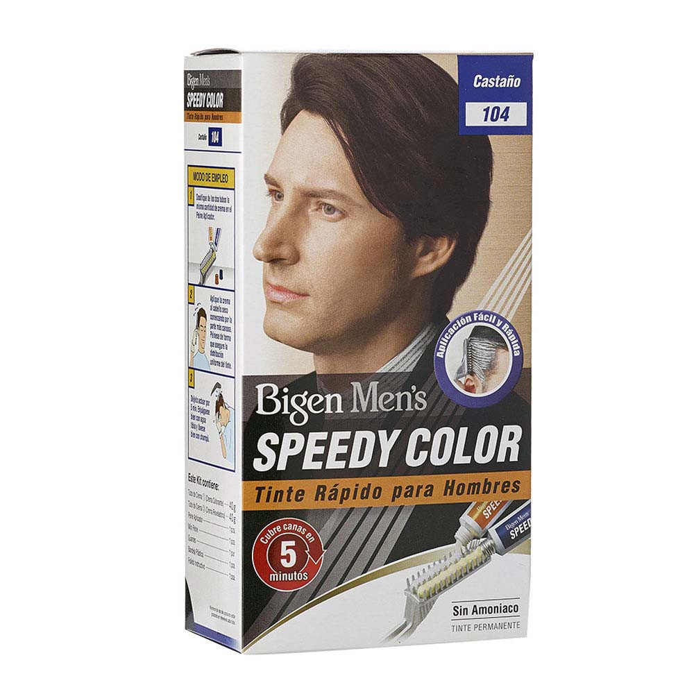 Tinte Bigen Mens Speedy castaño No.104