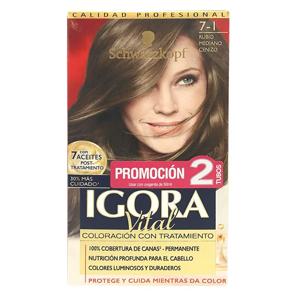 Igora vital oferta doble tuvo referencia 7-1