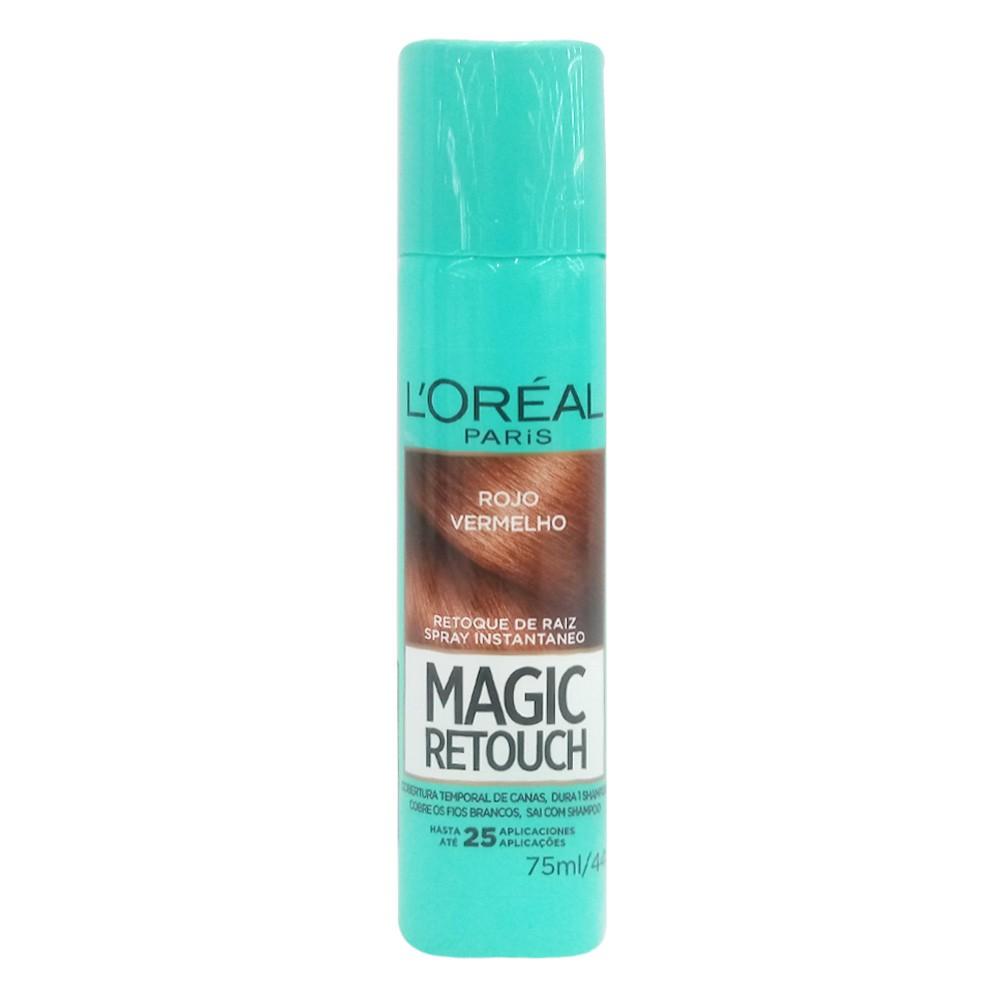 Retoque raíz magic rojo spray
