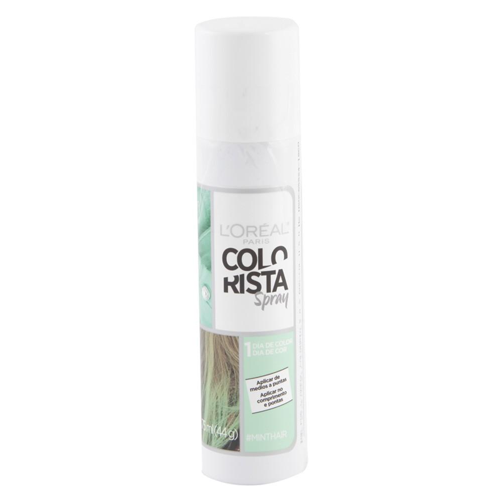 Color spray colorista tono menta