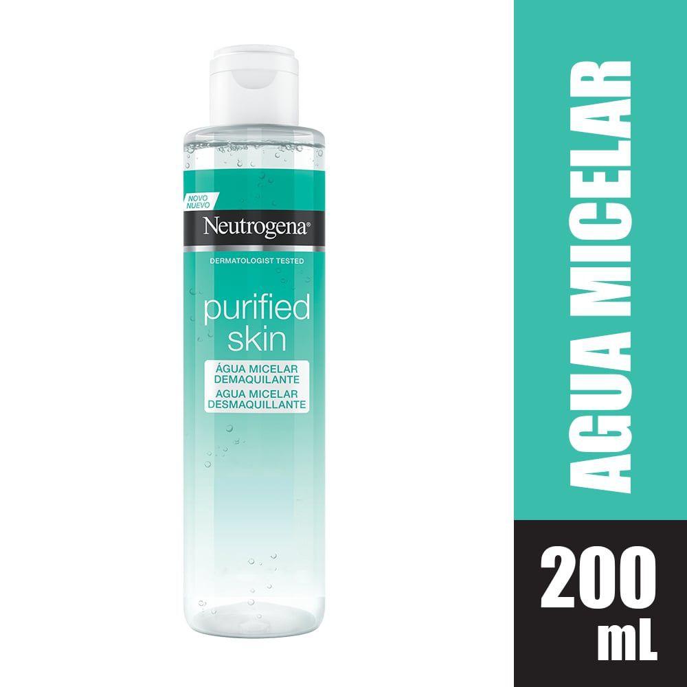 Agua micelar purified skin