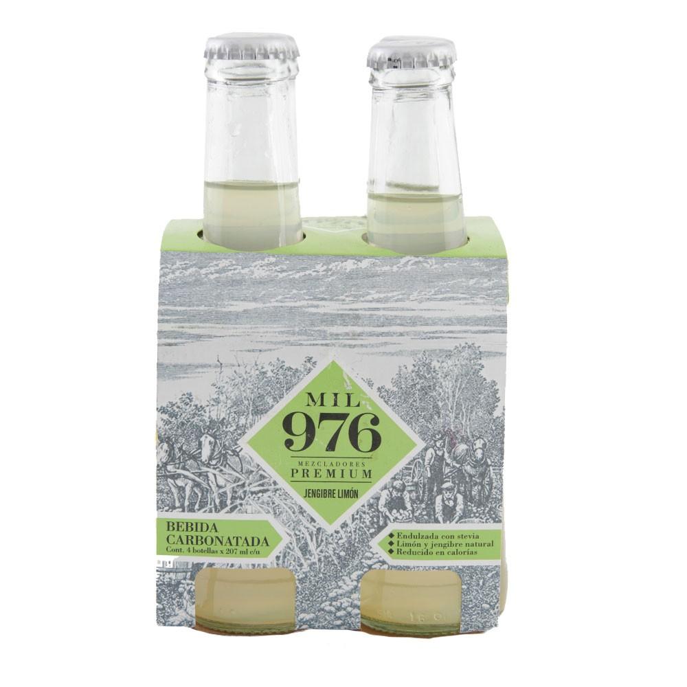 Bebida Mil 976 jengibre limón botella