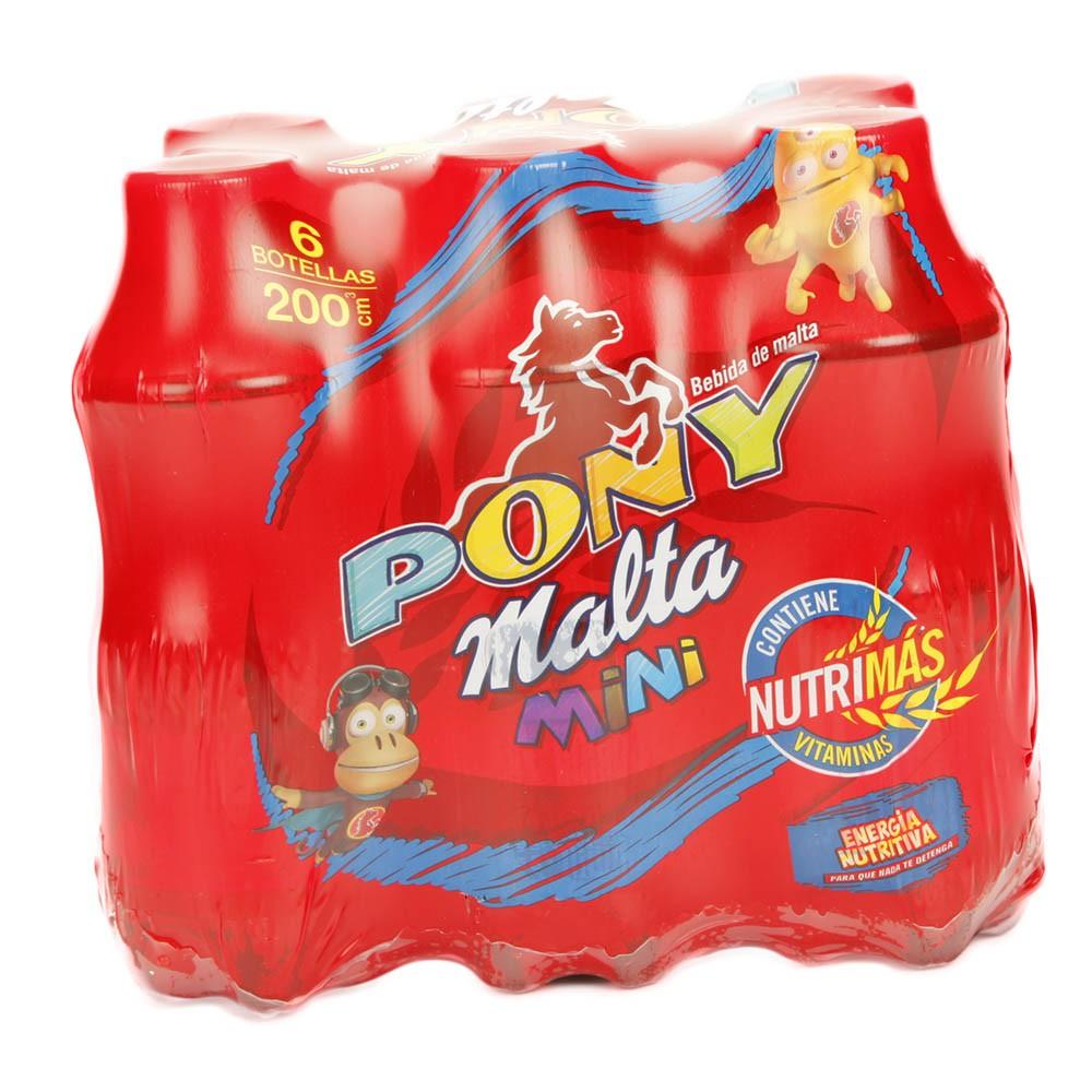 Pony Malta Sixpack Pet