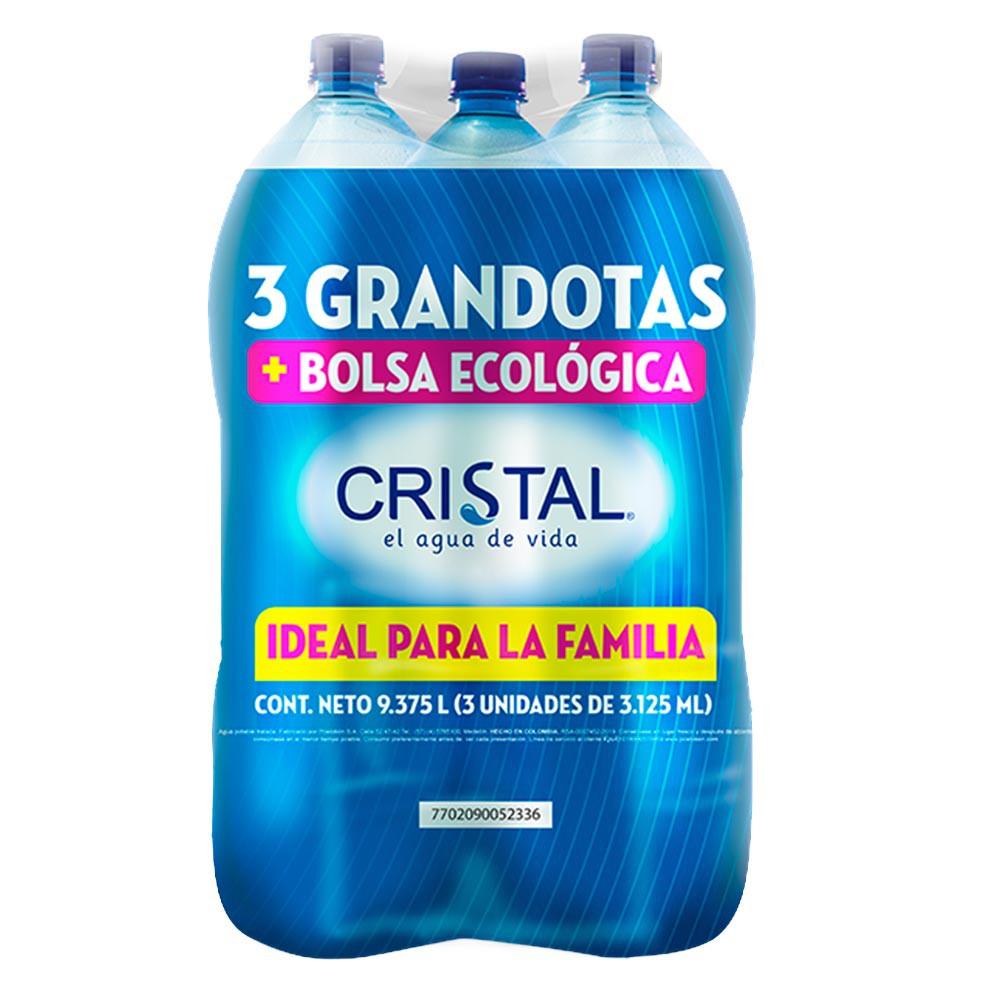 Agua Cristal grandota