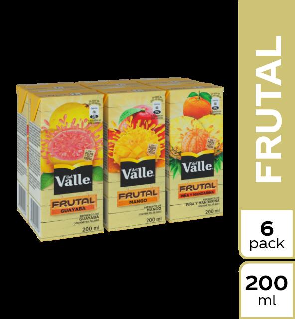 Refresco Del Valle frutal surtido