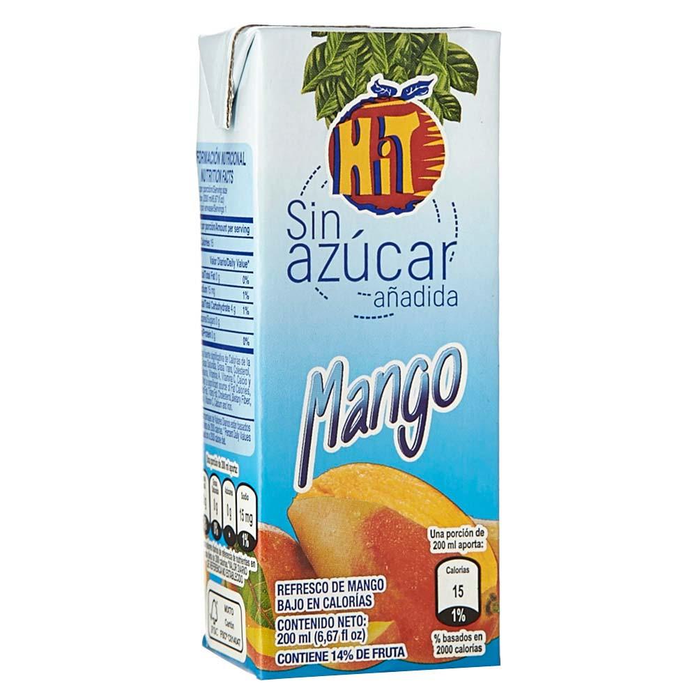 Refresco light mango tetrabrik