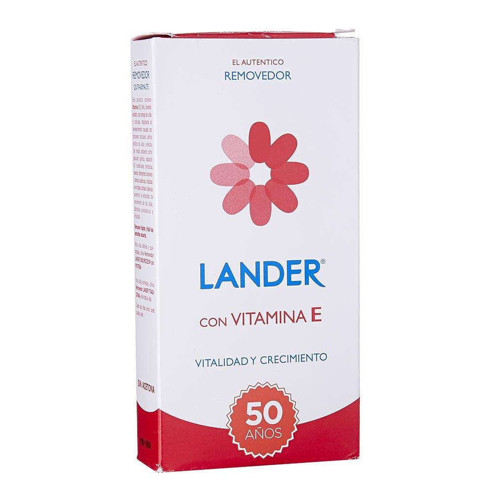 Removedor con vitamina E Lander