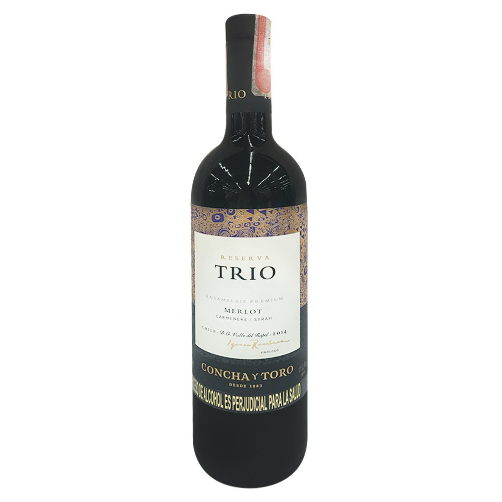 Vino chileno tinto merlot